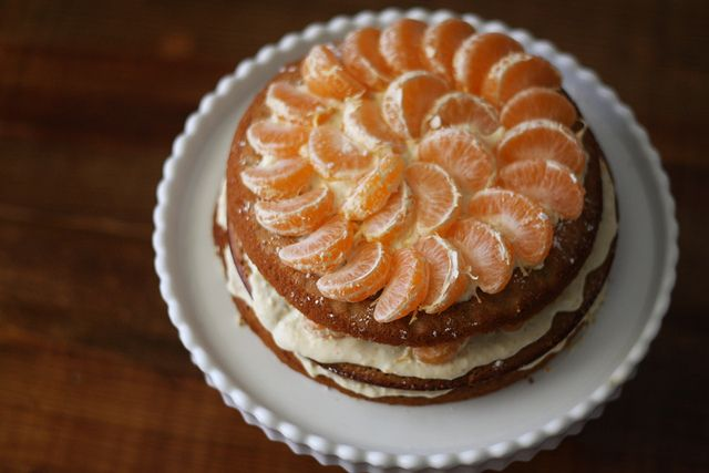 satsuma layer cake, perfect for December and the holidays ...