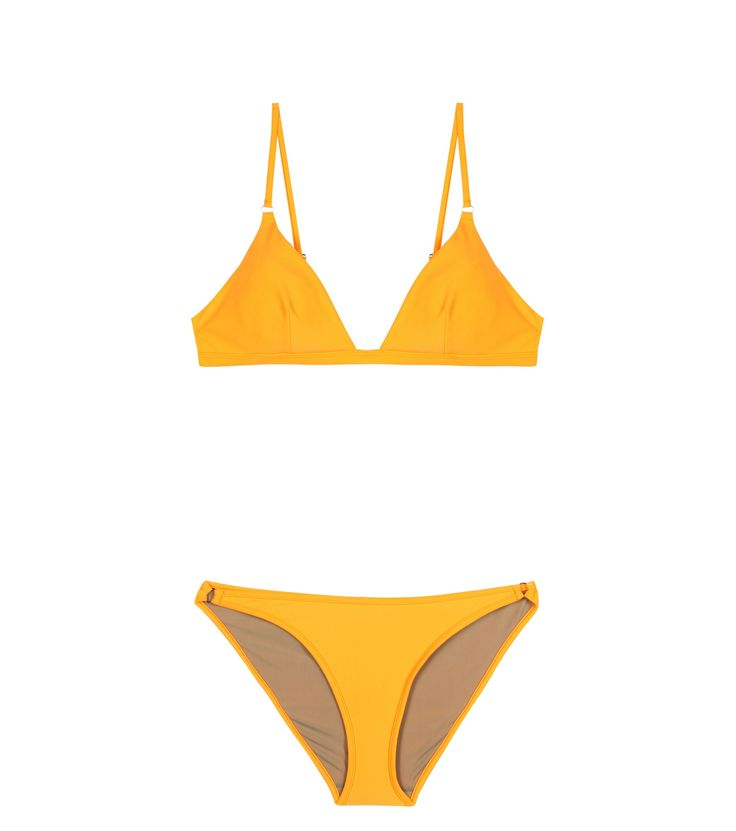 Love the color! | Tangiers yellow bikini