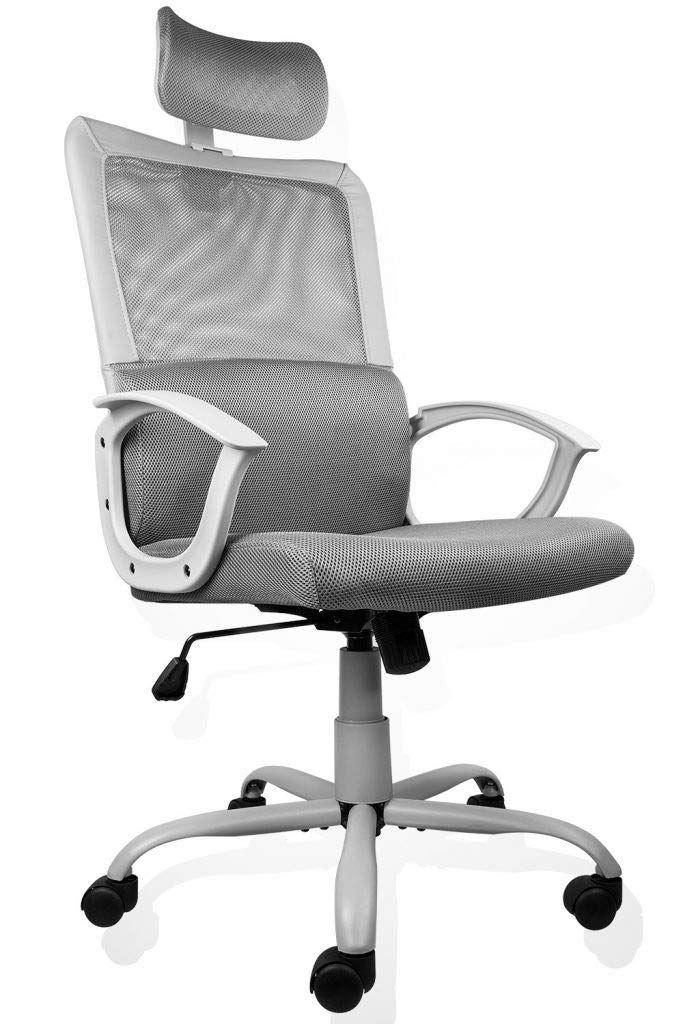 Ergonomic Office Chair Adjustable Headrest Mesh Office Chair Office Desk Chair Computer Task Chair Office Chair Design Ergonomic Chair Mesh Office Chair