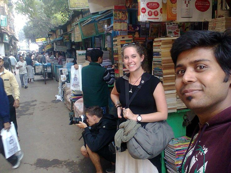 Shooting on the streets in North Kolkata with my second half and our awesome guide/new friend Deep :)