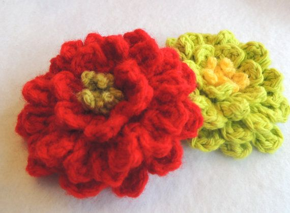 Crochet Zinnia Flower Pattern : 139 best images about My Stuff (Crochet) on Pinterest ...