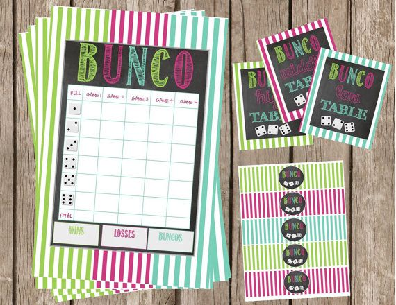 114 best Bunco Ideas images on Pinterest Snacks, Clean eating - sample football score sheet