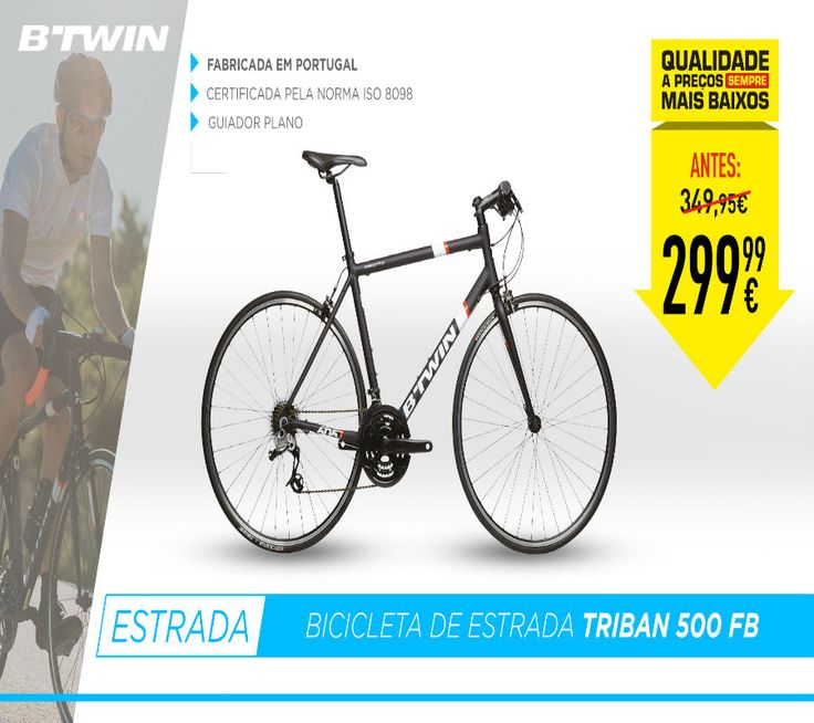 Bicicleta de estrada Triban 500 FB B'TWIN