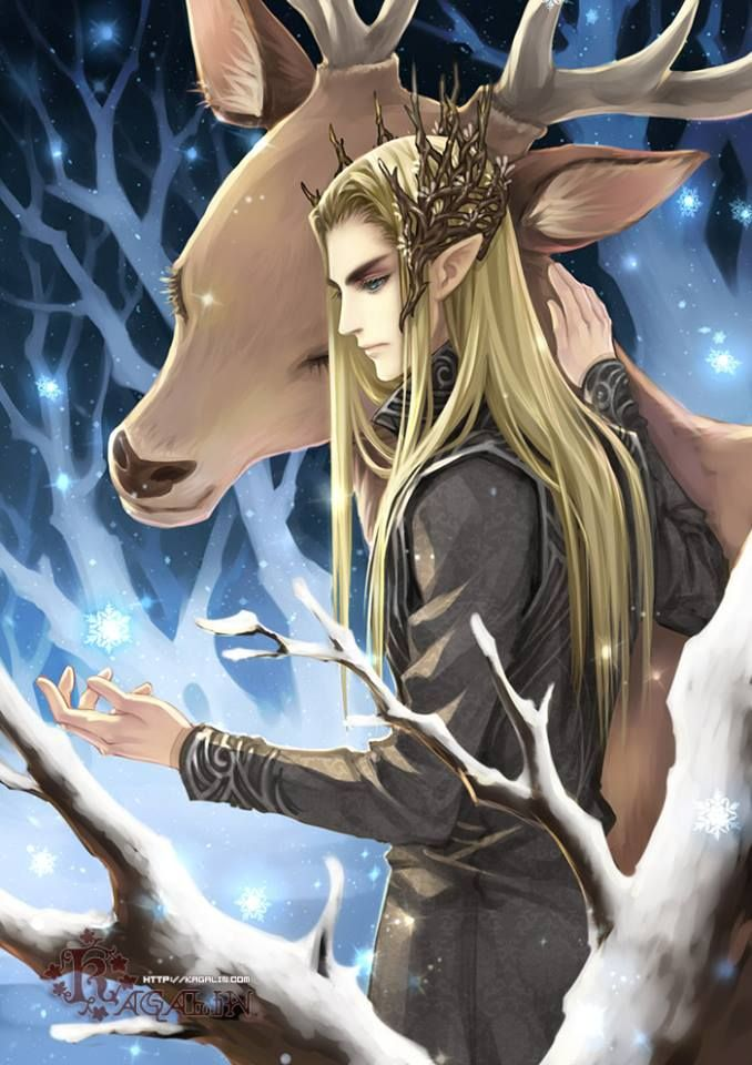 """""""Thranduil (The Lord of the Rings)"""" Actually more like The Hobbit, unless you count the 2 times he's mentioned in The Lord of the Rings plus the glossary... #nerd"""