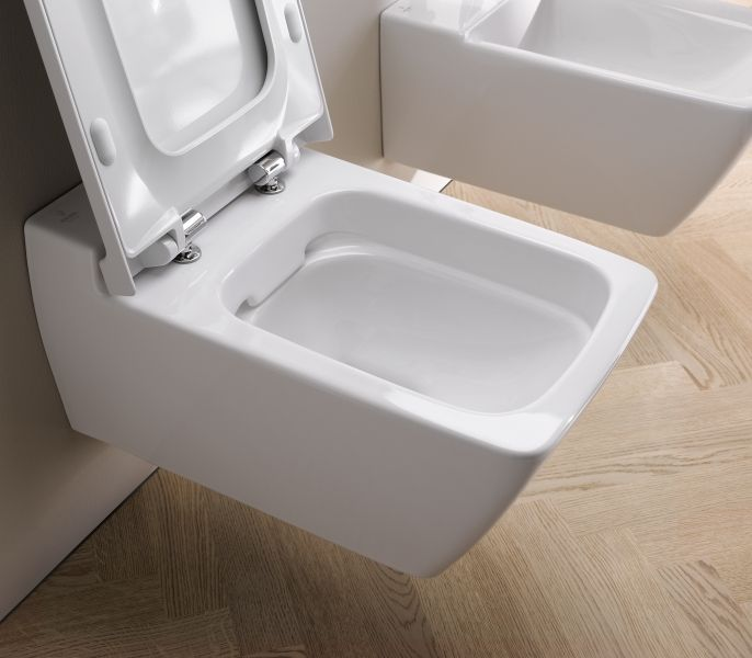 Keramag #Rimfree #Toilet - less cleaning, less harmful cleaning chemicals #ecofriendly
