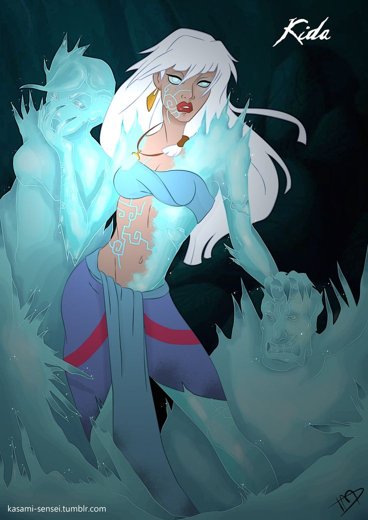 Twisted # Kida by Kasami-Sensei on deviantART - I wish there was more artwork with her