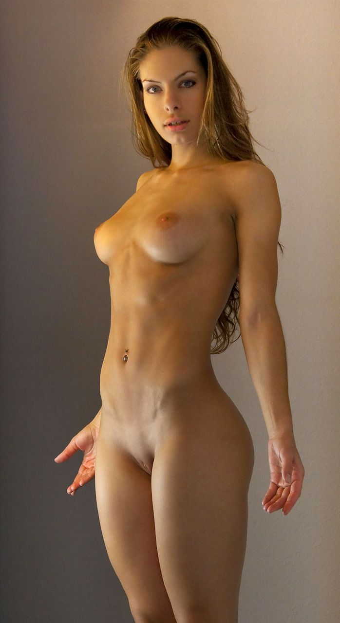 fit and sexy as hell naked woman