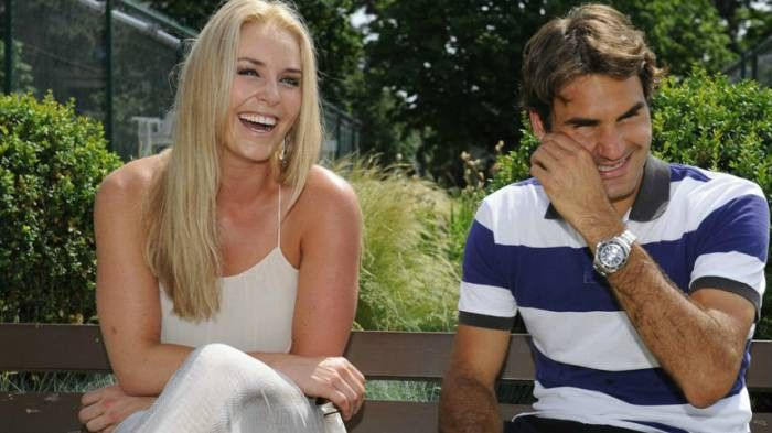 Lindsey Vonn Says Roger Federer is an Inspiration to Her