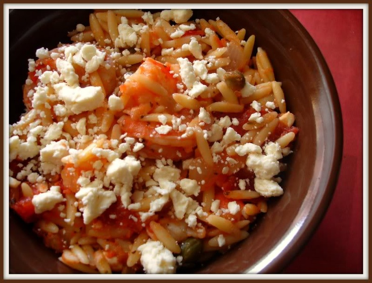 Orzo pasta, shrimp, and feta. | Greek Savory and Appetizers | Pintere ...