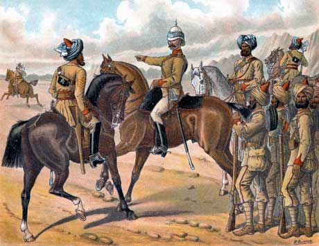 Battle of Ali Masjid, 21st November 1878, Queen's Own Corps of Guards