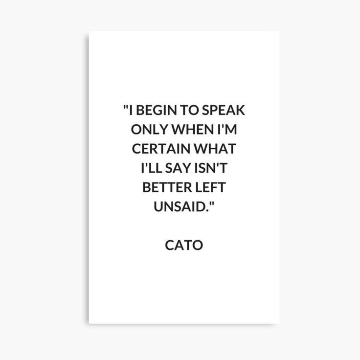 CATO Stoic Philosophy Quote | Canvas Print – #Canv…