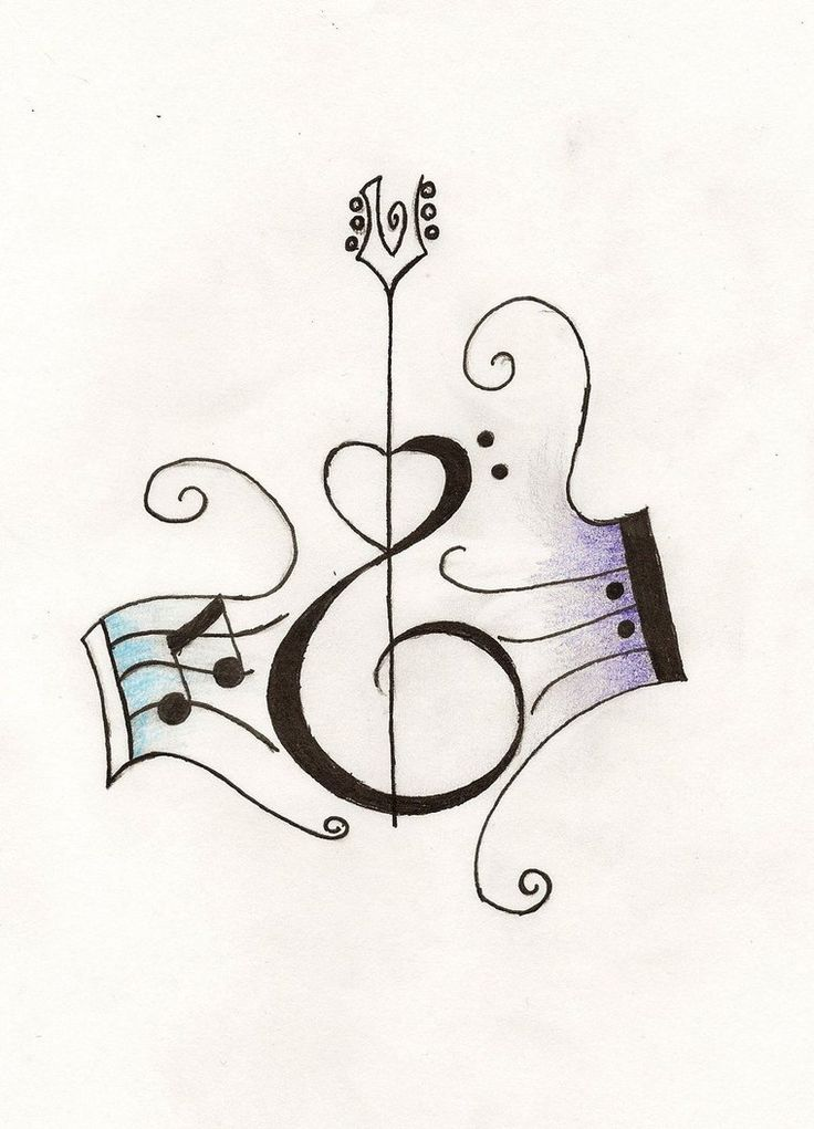 tattoos of guitars on back | Guitar Tattoos - Bass & Acoustic Tattoo Designs | Tattoo Art ...