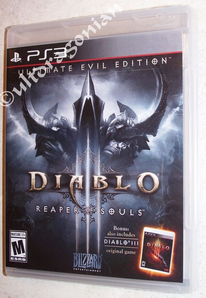 DIABLO III: Reaper of Souls Ultimate Evil Edition Sony PS3 NEW Ships FREE - Ding