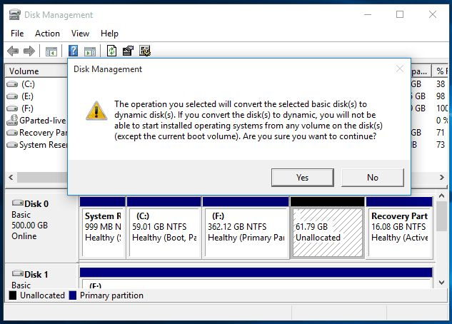 Create more than 4 partitions on MBR disk without converting to dynamic disk.