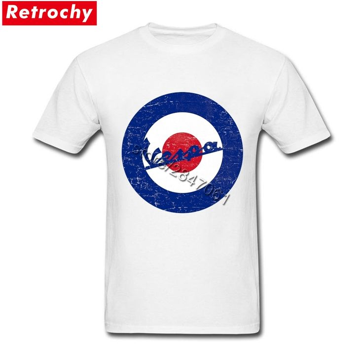 Vintage Vespa Logo T Shirt Men Retro Looking Fashion Scooter T-Shirts Round Neck Sale Brand Tee Shirts Boyfriend Valentines Gift #RetroMens