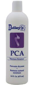 Dudley's Pca Moisture Retainer Moisturizer for Unisex, 16 Ounce by Dudley's. Save 14 Off!. $24.00. Dudley's PCA Moisture Retainer 16oz. An economical, concentrated, leave-in moisturizing hairdressing that protects the hair from chemical processing. Designed to restore the hair's natural oils and moisture, this daily hair lotion is enriched with humectants and creamy emollients that soften and retain moisture in the hair shaft.