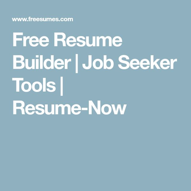 85 Free Resume Templates For MS Word  My Free Resume Builder