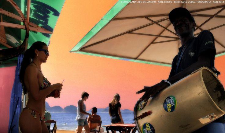 Rio de Janeiro . Copacabana . Artexpreso 2014 ..