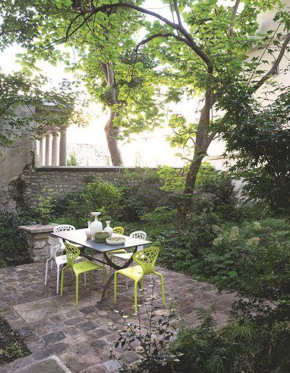 7 best Jardin de maison de ville images on Pinterest | Small gardens ...