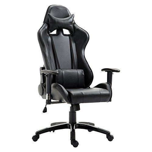 Racing Manager Grand Bureau Fauteuil Style Homcom De Confort Baquet H2W9EDIY