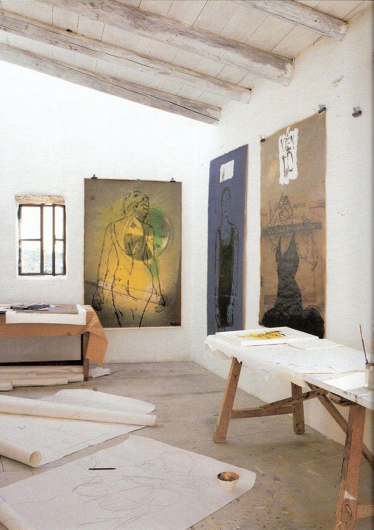 Linde Bialas studio, photo Pere Planells