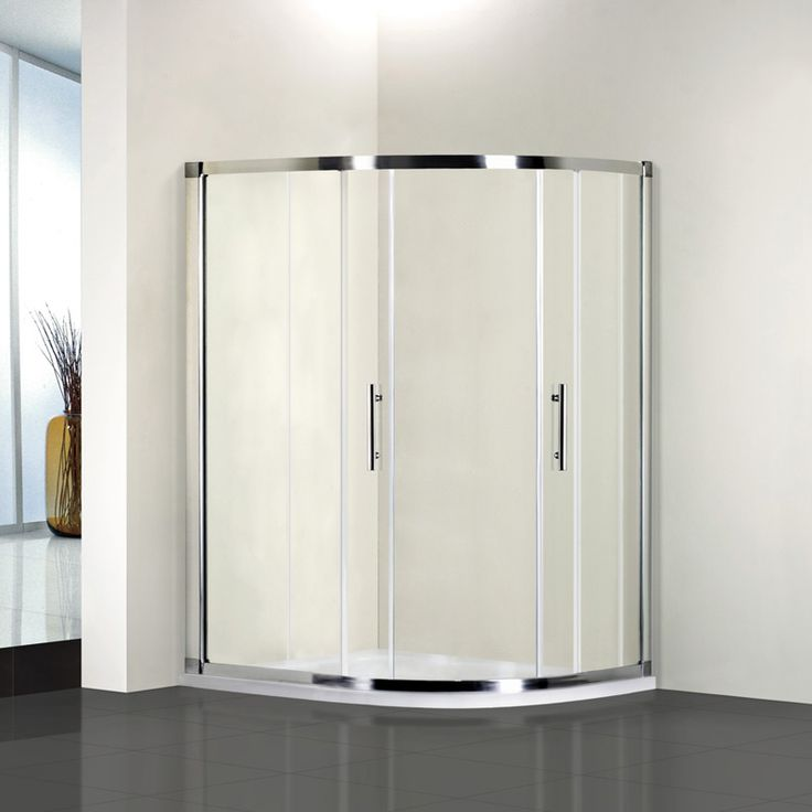 Nice xmm Quadrant Shower Enclosure Easyclean no tray Price was Now
