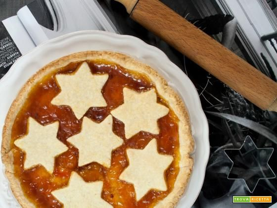 Crostata con marmellata di albicocche / Apricot jam tart recipe  #ricette #food #recipes