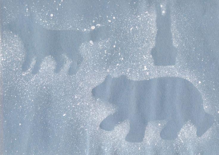 Preschool Crafts for Kids*: Polar Bear Arctic Animals Craft for Kids
