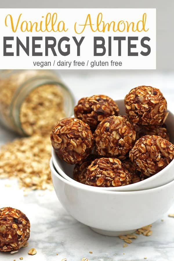 Vanilla Almond Balls Recipe Healthy Vegan Snacks Vegan Snacks Vegan Snack Recipes