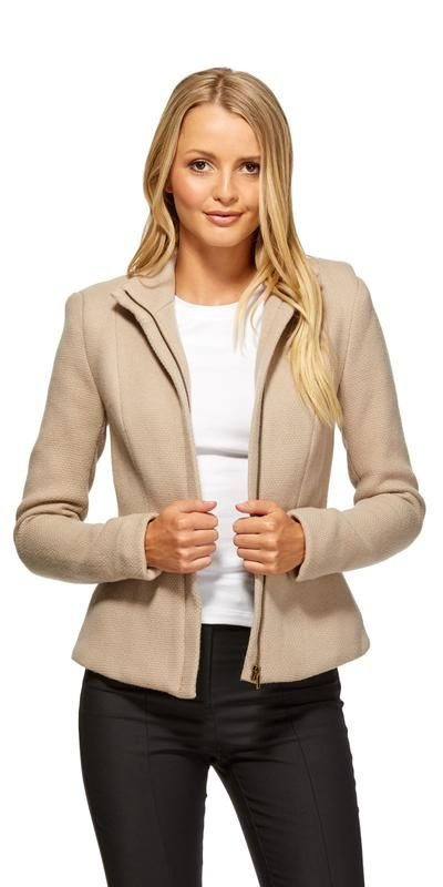 Square Weave Jacket