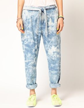 Enlarge Maison Scotch PJ Pants in Tie Dye