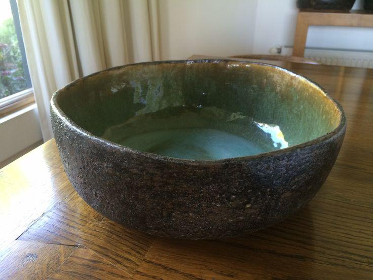 Fuente de ceramica esmalte y silicato
