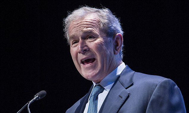 George Bush hits out at Obama's nuclear deal with Iran and ISIS war