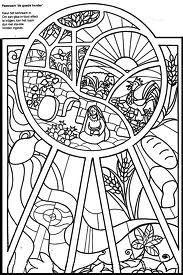 maria bij het open graf paasraam de goede herder kleur het kerkraam in om een glas-in-lood effect te krijgen kan het raam dun met sla olie worden ingevet