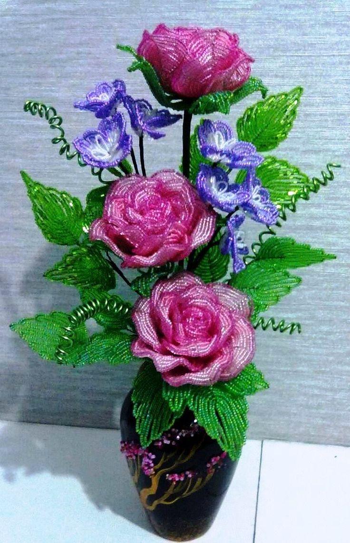 печь простой композиция роз из бисера фото лица ваши счастьем