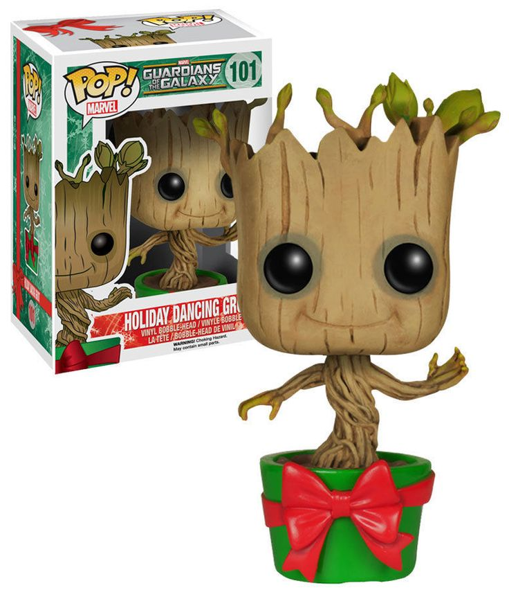 Funko POP! Guardians Of The Galaxy #101 Holiday Dancing Baby Groot New Mint #FunkoPop #Groot #Collectibles