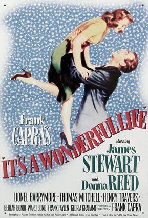 It's a Wonderful Life - official poster by Roberto Grassilli, via Flickr