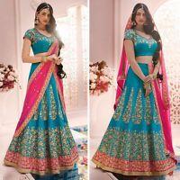 Indian Wedding Bridal Designer Lehenga Pakistani Choli And Dupatta Set Bollywood