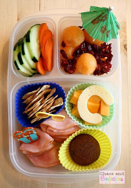 """Chaos and Confections: """"C"""" You at the Beach #lunch packed in @EasyLunchboxes"""
