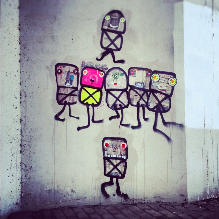 Street Robots