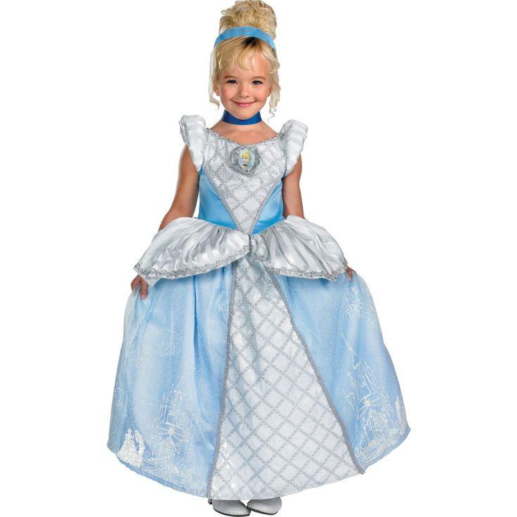 Disney Storybook Cinderella Prestige Toddler / Child Costume