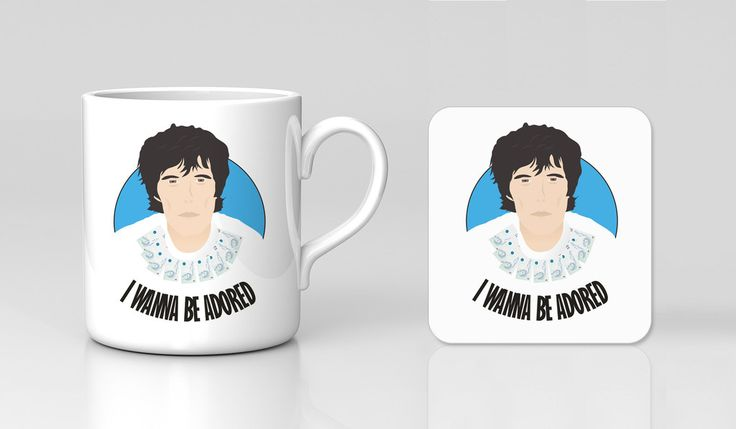 The Stone Roses Tour 2016 Retro Band Ian Brown Oasis Mug And Coaster S – Kituout Store