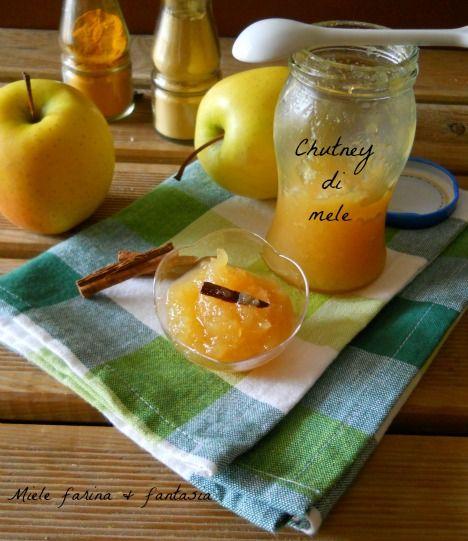 Chutney di mele,condimento per carni bollite,arrosti pesci, fritti, riso, verdure e formaggi. Facile, dal gusto agrodolce e profumata di cannella e zenzero