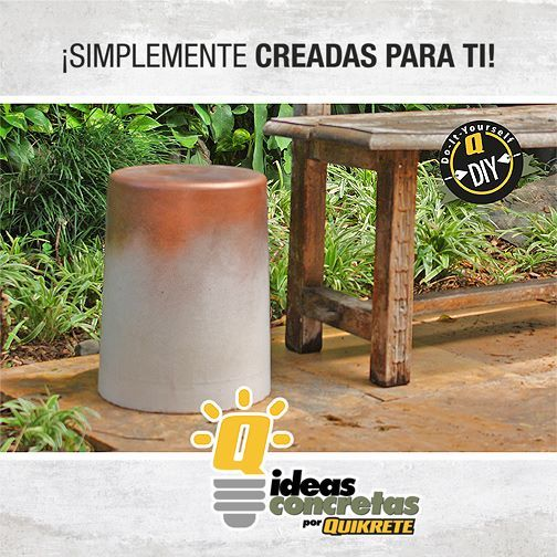 8 best ideas concretas con quikrete images on pinterest for Como crear un jardin
