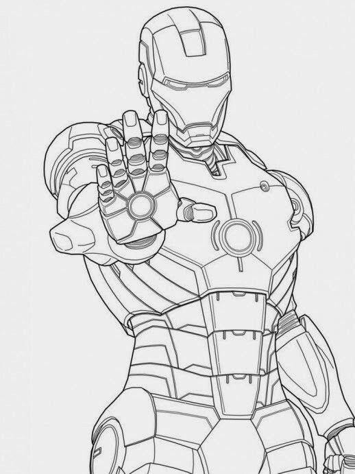 iron men diy and crafts superhero marvel diy - Color Alive Coloring Book