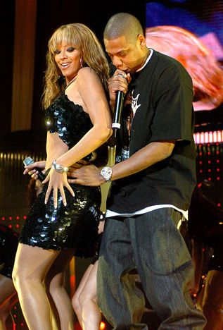 The terrific twosome got close during Jay-Z's Black Album tour