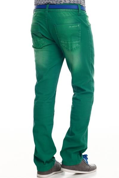 Где можно купить зеленые джинсы