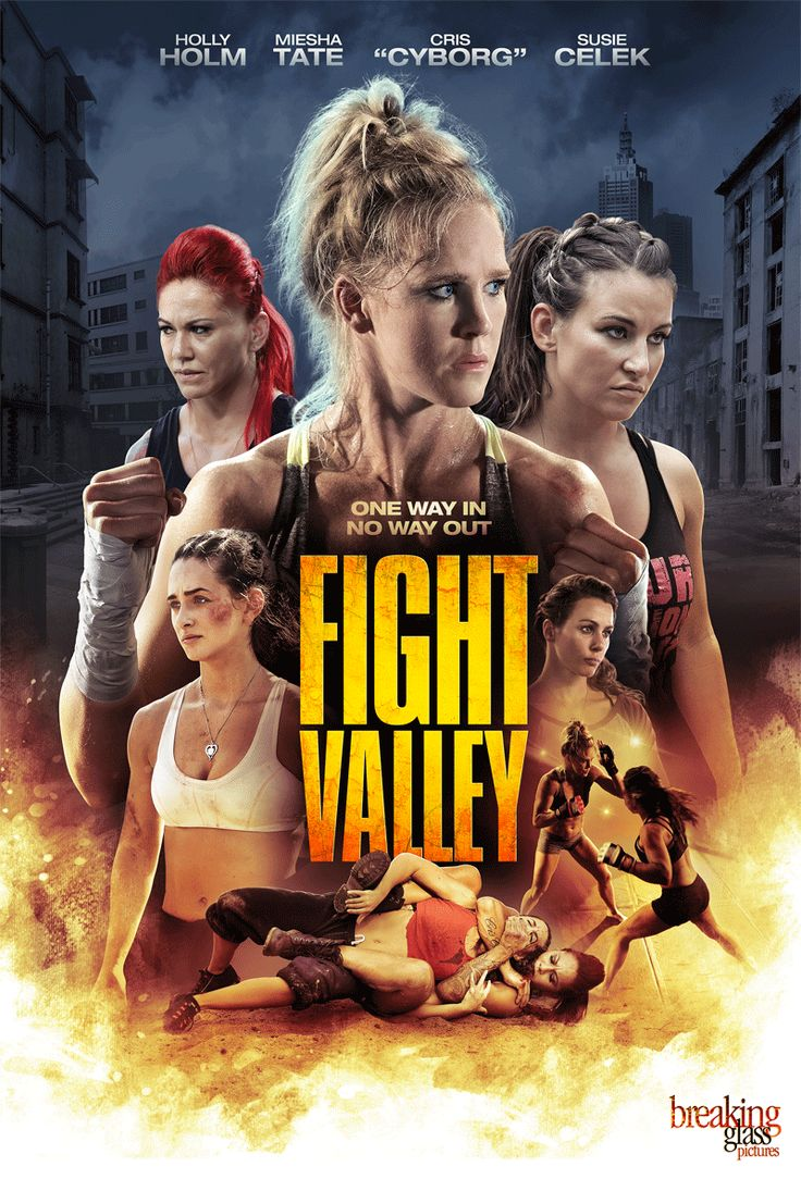 M.A.A.C. – UFC Stars MIESHA TATE & HOLLY HOLM Stars In FIGHT VALLEY. UPDATE: Trailer & Poster