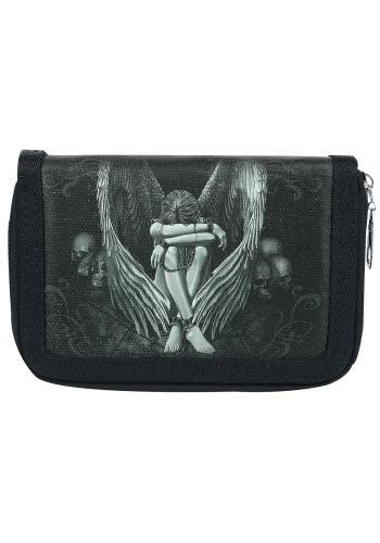 """Portafoglio """"Enslaved Angel"""" del brand #Spiral. Dimensioni: 13 x 9 x 3 cm."""