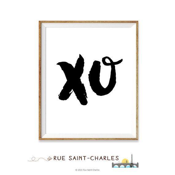 Beyonce XO printable art love Beyonce song art by RueSaintCharles
